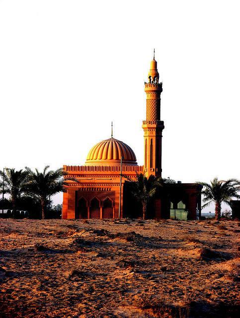 mosquée inconnu dans le dessert
