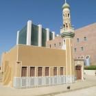 Petit mosquée koweitienne avec minaret