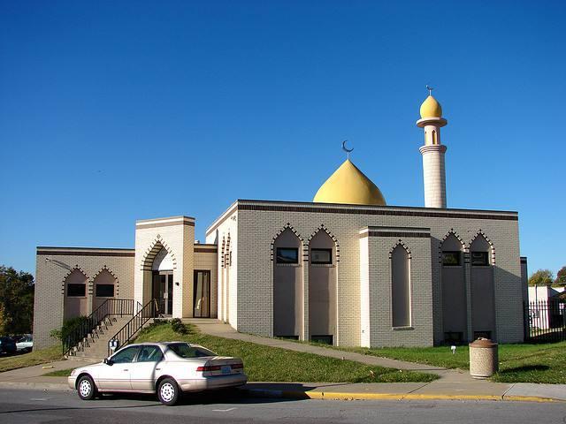 Belle mosquée dans le missouri aux Etats Unis