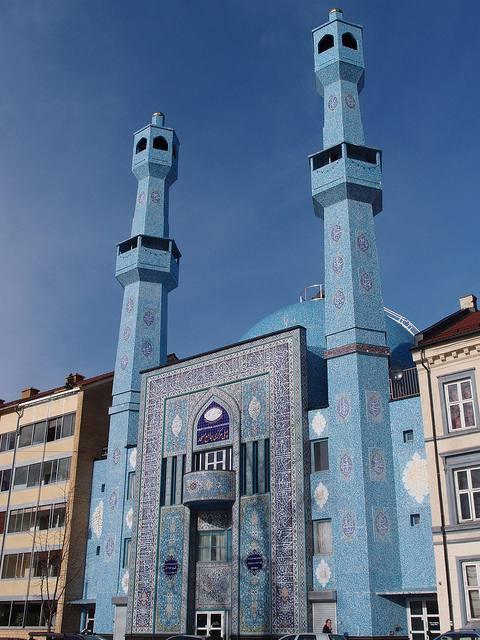 Grande Mosquée bleue Oslo en Norvége