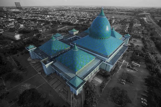 mosquée Al-Akbar à Surabaya, Indonésie