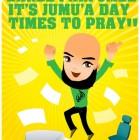 Affiche qui annonce le jour de la Joumou'a