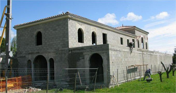 Contruction de la mosquée de Tournon-sur-rhone