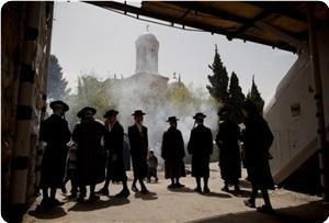 Juifs à l'esplanade de la saint mosquée al aqsa