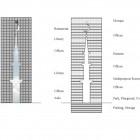 Vue en détail de la mosquée minaret