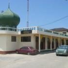 Mosquée dans un village thaïlandais
