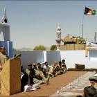 Ceremonie mosquée Afghanistan