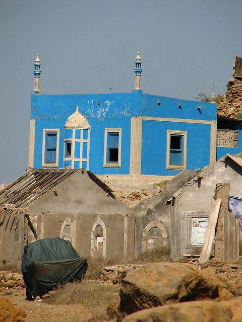 Mosquée Rudimentaire au pakistan