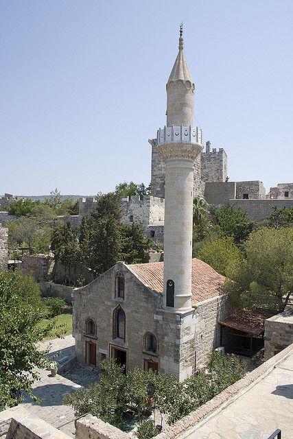 Mosquée a Bodrum en Turquie