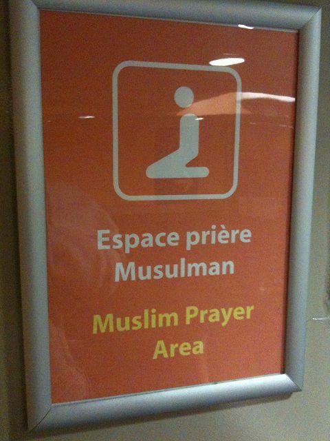 affichage mosquée d'orly sud