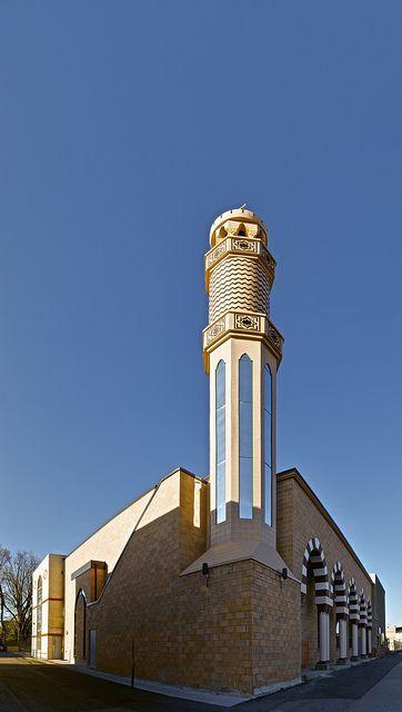 Mosquée Toronto avec son Minaret