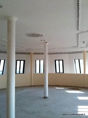 salle de prière de la mosquée de Limay
