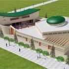 La maquette de la mosquée de Val Bussy