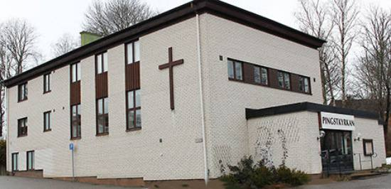 Mosquée une ancienne église à Flen en Suède