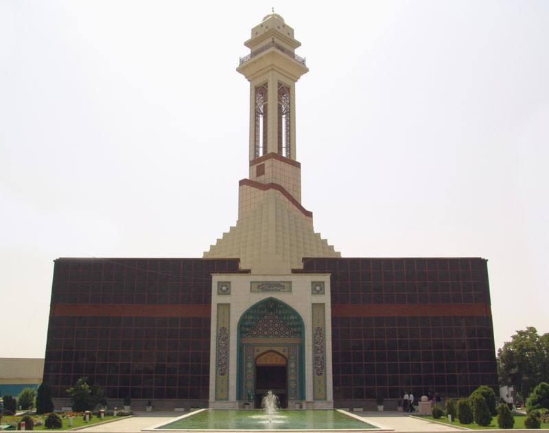La grande mosquée Ibrahim à Téhéran en Iran