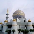 La grande mosquée de Kota Kinabalu en Malaisie