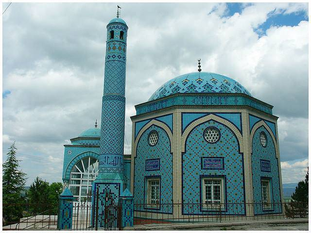 Mosquée Mosaique en Turquie