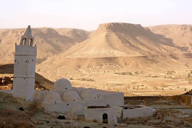 Ancienne mosquée de Chenini Tunisie