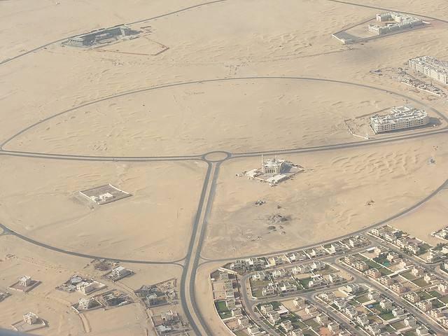 mosquée milieu du desert
