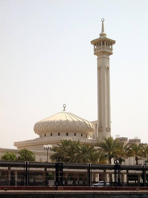 Belle mosquée à Dubaï