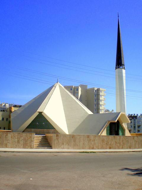 Une mosquée pyramide en Turquie
