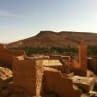 Mosquée située dans la vallée de Ziz au Maroc