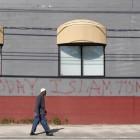 Mosquée taguée aux Etats-Unis