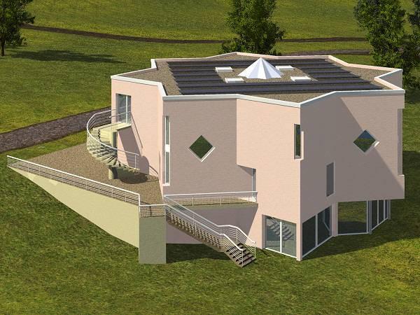 Maquette de la nouvelle mosquée de l'IESH de château Chinon