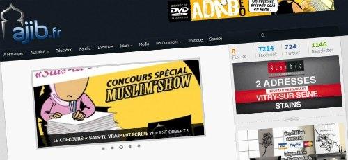 Nouveau design pour le site Ajib