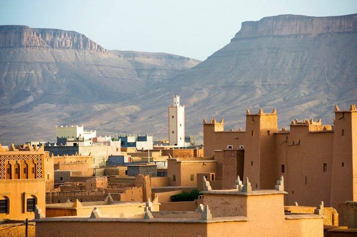 Mosquée à Nekob au Maroc