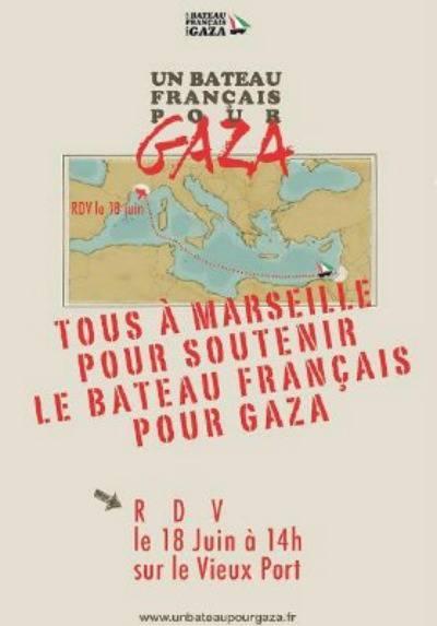 Un bateau français pour Gaza – Collectif 13