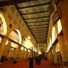 L'intérieur de la mosquée Al Qods