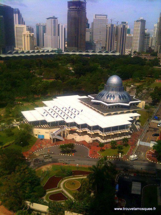 La mosquée Kuala Lumpur City Center KLCC