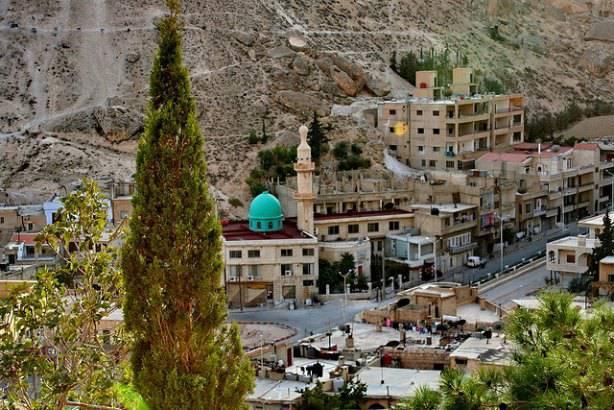 Mosquée à Maloula en Syrie