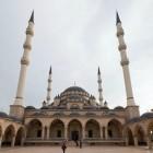 Mosquée à Grozny en Techétchénie