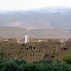 Mosquée dans les gorges du dades Maroc
