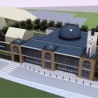 La maquette de la grande mosquée de Béthune