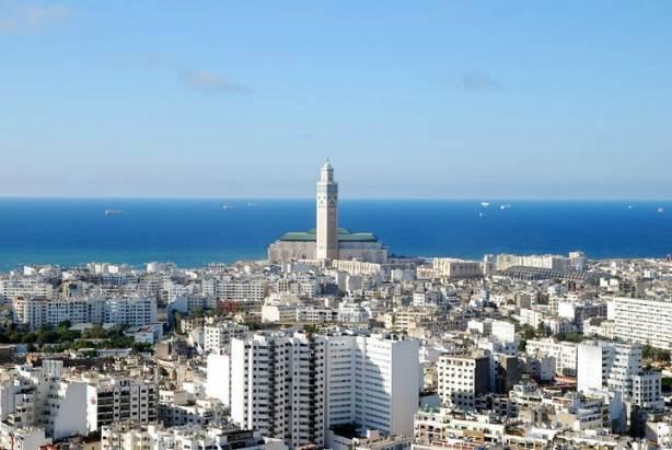 La grande mosquée Hassan 2 Casablanca Maroc