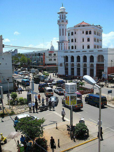 Une mosquée à Mombasa au Kenya