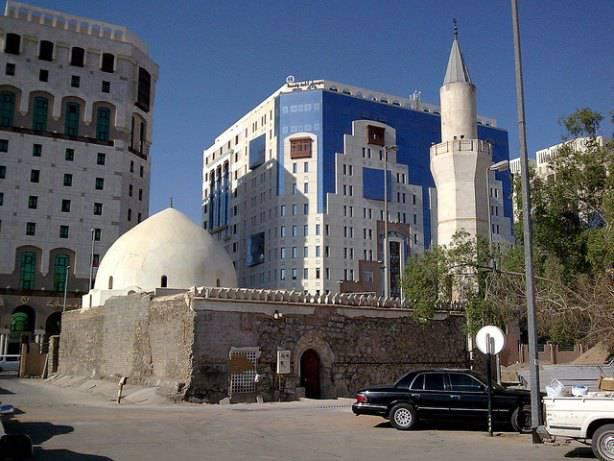 Une mosquée à Médine en Arabie Saoudite