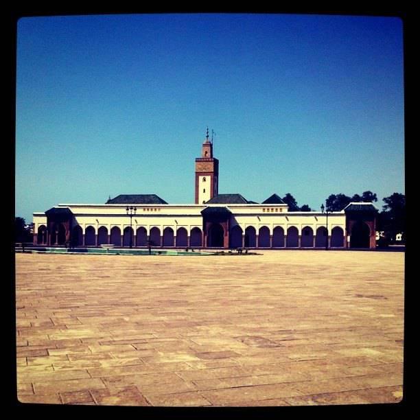Mosquée à Rabat Maroc