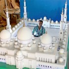 Replique de la grande mosquée d'abu Dhabi