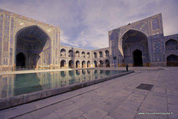 La mosquée de l'imam à Ispahan en Iran