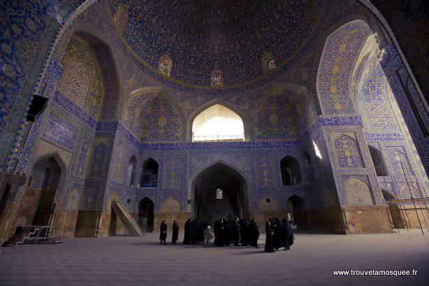 Mosquée de l'imam à Ispahan en Iran