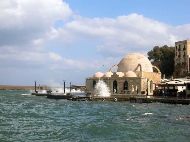 Une ancienne mosquée en Crète