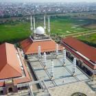 La mosquée centrale de l'île de Java d'Indonésie