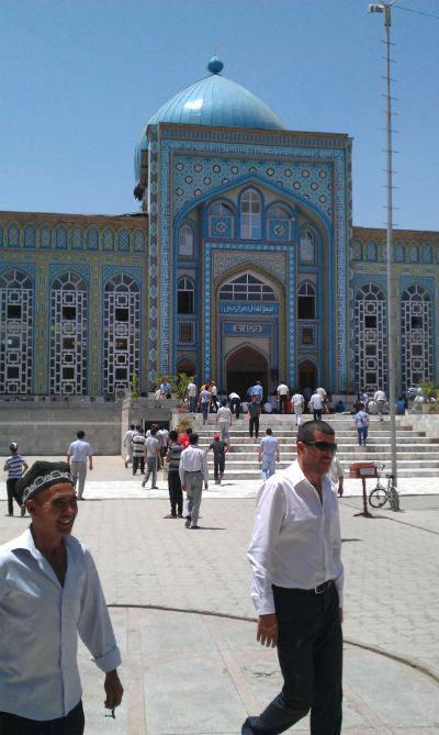 Prière du vendredi au Tajikistan