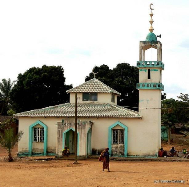 Mosquée de Nampula au Moçambique