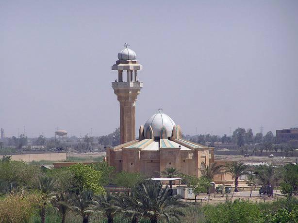 Une mosquée à Bagdad en Irak