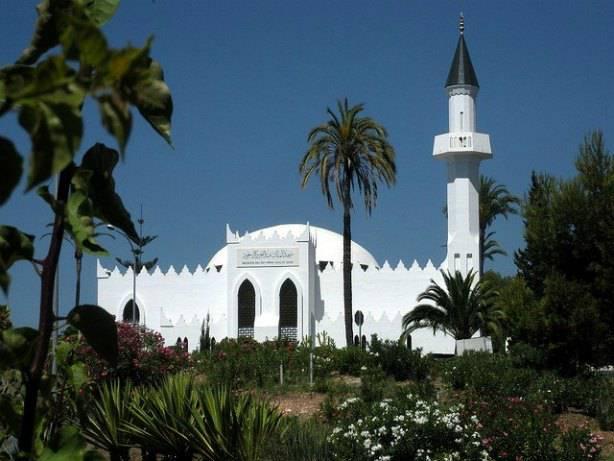 Une mosquée à Marbella en Espagne